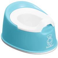 Ljusblå potta från märket Babybjörn