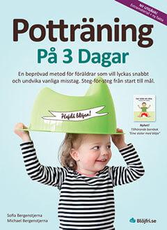 Omslag till på boken Potträning på 3 dagar - Blöjfri på 3 dagar
