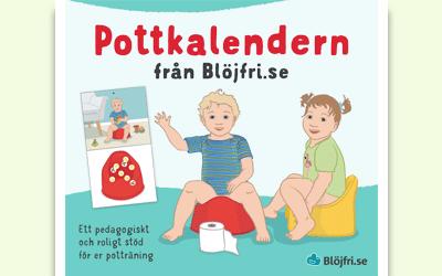 Pottkalendern från Blöjfri.se